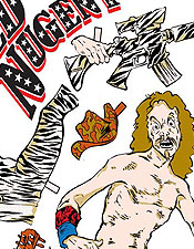 Ted Nugent paper Doll concert poster